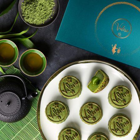 8 pcs lava green tea