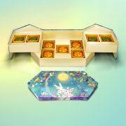 Valérie九件裝珍藏版月餅禮盒(四件流心宇治抹茶+五件流心奶黃月餅)