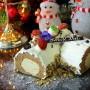 Valerie Hojicha Christmas Log