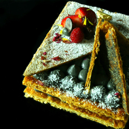 Sesame mille feuille